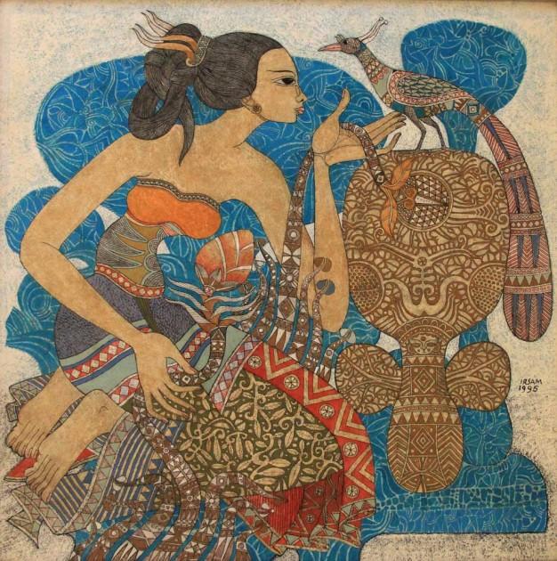 Wanita dan Burung
